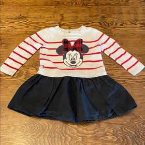 Gap Disney Minnie Mouse dress